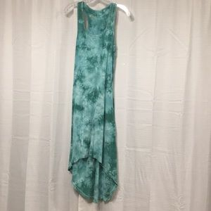 Bloom Yoga Athletic stretch dress tie dye